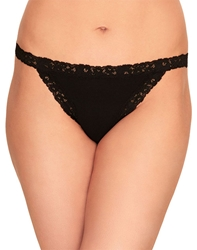b.temptd Insta Ready Thong Panty in Black