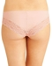 b.tempt'd b.bare Cheeky Tanga in Rose Smoke, Back View
