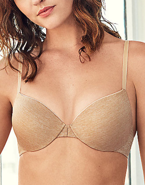 B.Tempt'd B.Splendid Underwire T-Shirt Bra in Au Natural/Heather