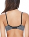 B.Tempt'd B.Splendid Wire Free Bra, Back View in Dark Gray/Heather