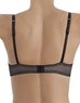 Ciao Bella Balconette Underwire Bra, Back View in Night