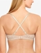 b.tempt'd Modern Method Strapless, Convertible Bra, Crisscross Back View in Au Natural