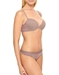 B.Tempt'd Tied in Dots T-Shirt Underwire Bra and Matching Bikini in Antler