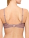B.Tempt'd Tied in Dots Wire Free Bra, Back View in Antler
