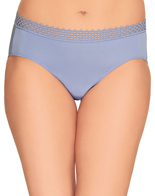b.tempt'd Tied in Dots Bikini Panty in Pale Iris
