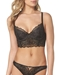 b.tempt'd Undisclosed 3/4 Underwire Bralette and Panty in Night