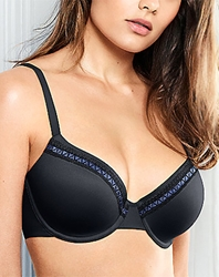 Perfect Primer Underwire T-Shirt Bra in Black